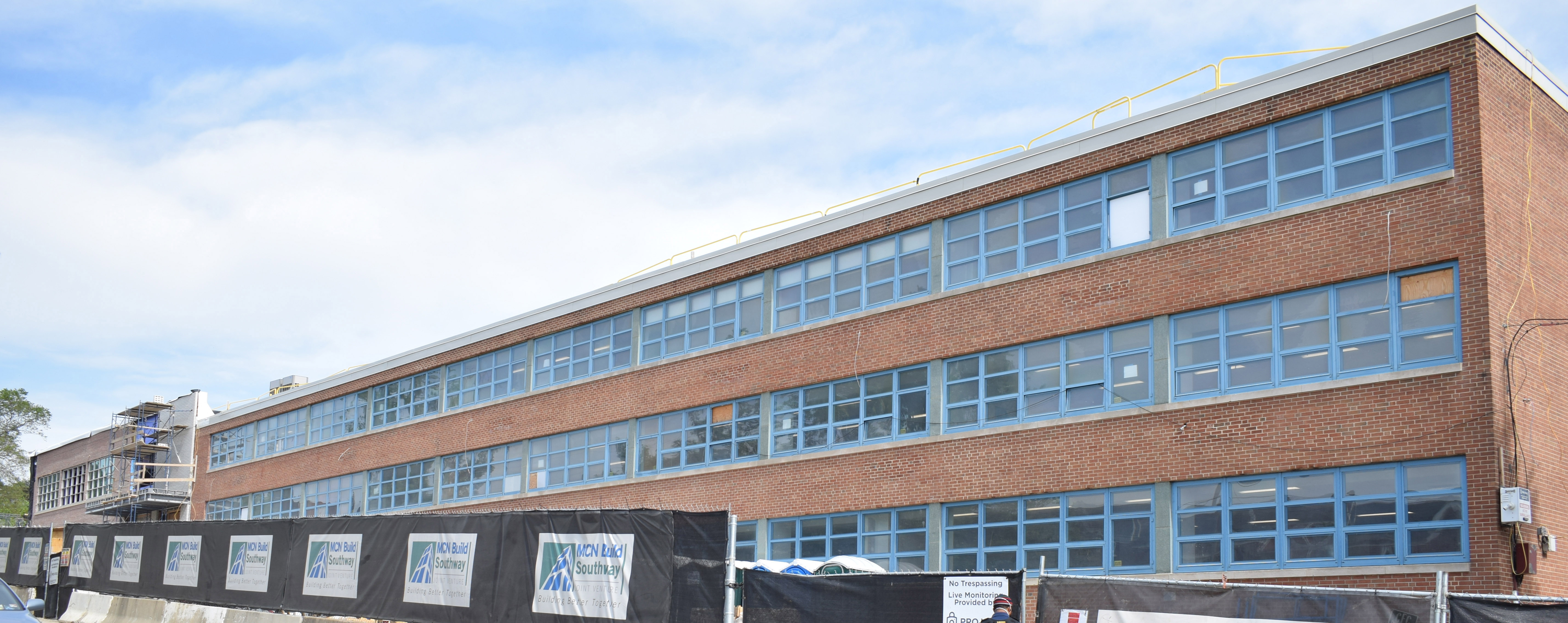 Mary E. Rodman Elementary School construction site